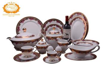 Japanese dinnerware set  sc 1 st  Karosa Chinaware - Alibaba & Japanese dinnerware set View gold plated dinnerware set KAROSA ...