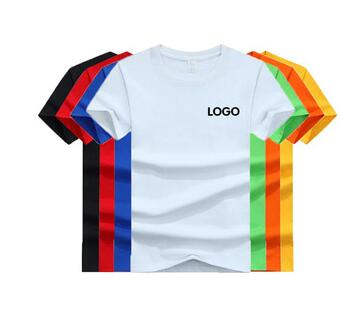 Wholesale oem logo men custom printing printed on blankT-Shirts Plain T shirts