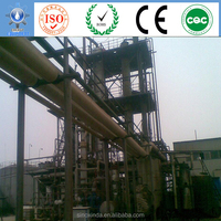 used oil recycling for cracking black oil purification