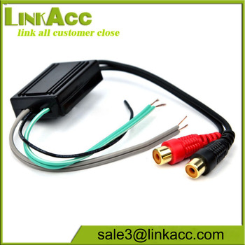 New Speaker To 2 Rca Line Output Converter In / Out High / Low - Buy New  Speaker To 2 Rca Line,Rca Output Converter In / Out High / Low  Cable,Speaker