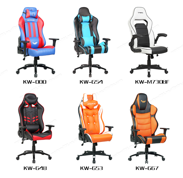 Modern pc perfect racing rocker gaming chair