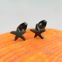 Fashionable best selling steel cheap earrings for men