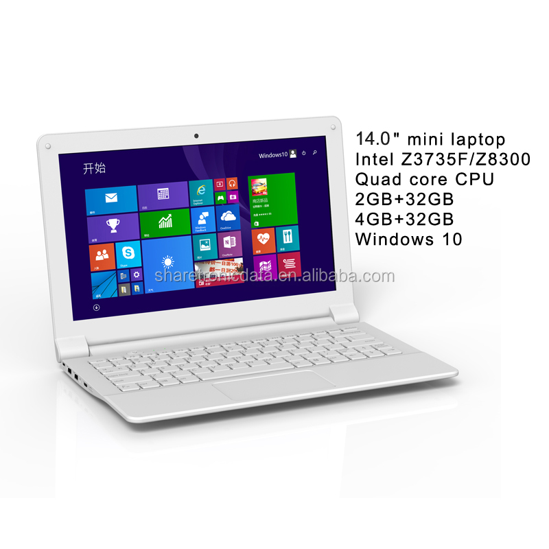 Ultra-thin Wholesale Mini Netbook Computer 14inch Quad Core Bulk Buy Cheap Netbook