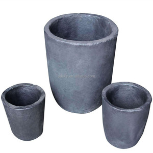 Pro cast foundry clay graphite crucible
