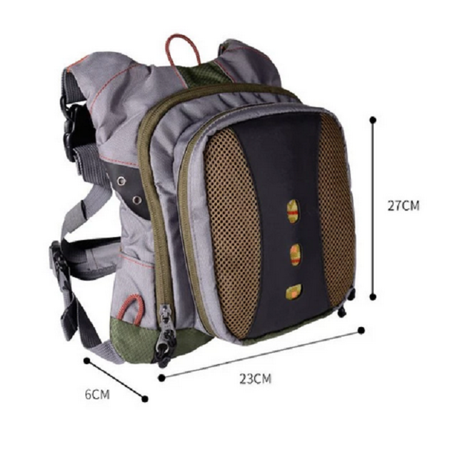 Waterproof Outdoor Fishing Bag Multipurpose Fishing Backpack Bag