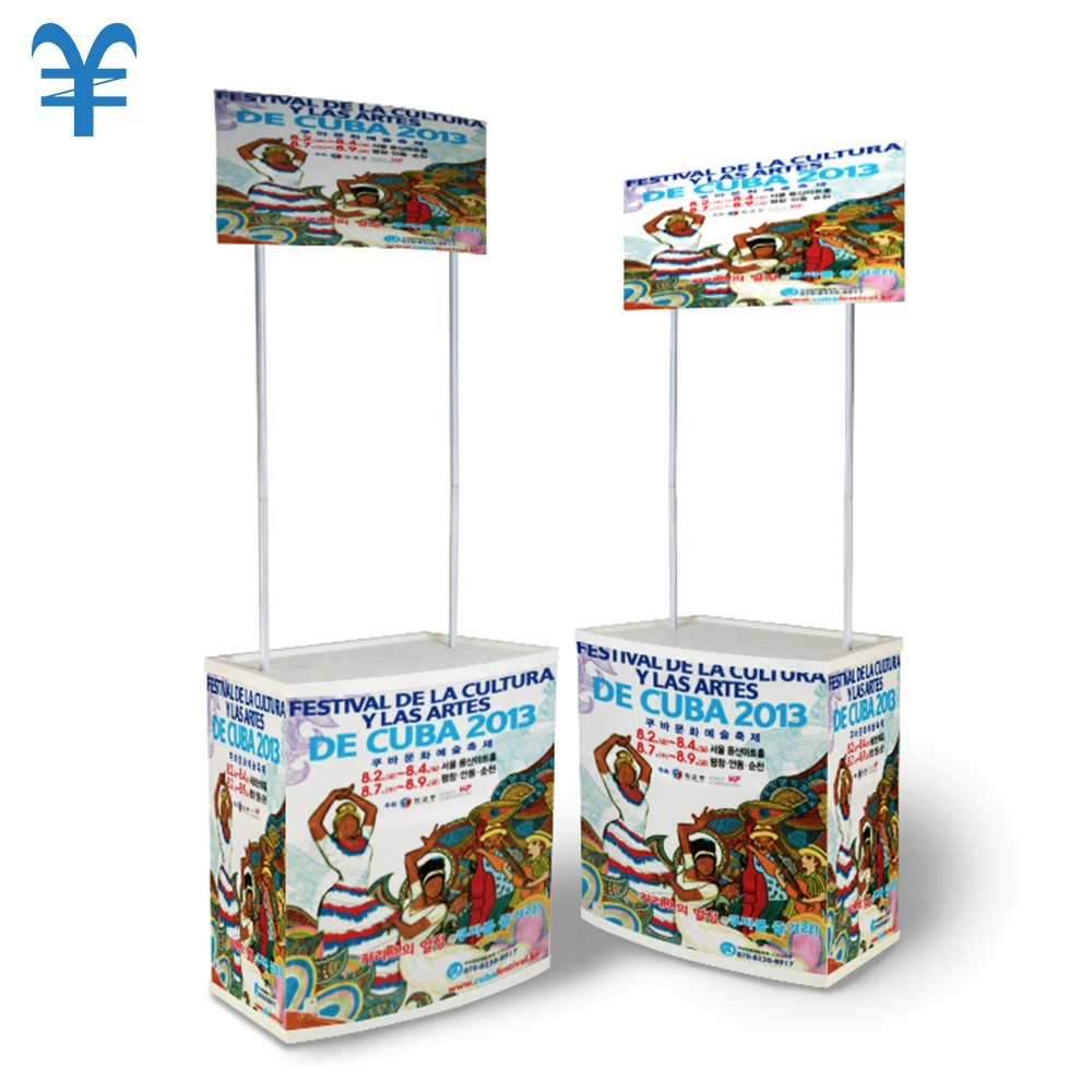 Event Promotie Booth Teller Tafel Top Display Stand