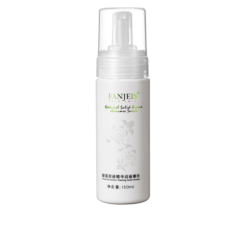 Fanjeis Deep Purifying Cleanser Mousse Foam Cleanser for Oily Skin