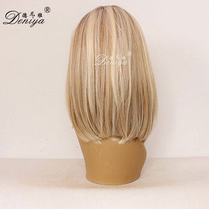 Natural Straight T-color Brazilian Virgin Human Hair Lace Front Wig