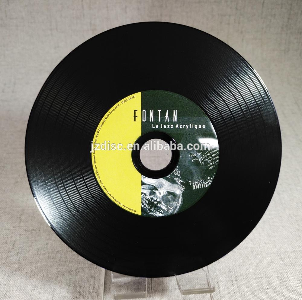 picture relating to Printable Vinyl Record Labels identified as Black Vinyl Cd Replication Duplication Printing - Purchase Vinyl Cd,Cd Replication,Cd Printing Products upon