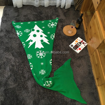 New christmas gift Mermaid Blanket for girlfriend
