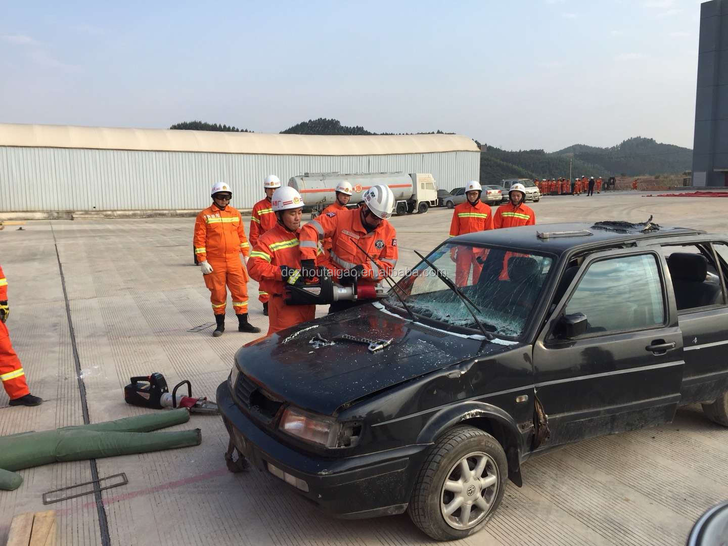 Dezhou Taigao Firefighting Equipment Rescue Electric Equipment Heavy Lifting Set