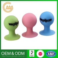 Factory Direct Sales Wholesale Price Custom-Made Cell Phone Stand Soft Nice Design Silicone Phone Stander