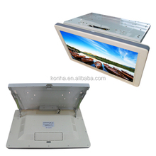 25 inch Bus LCD LED Roof TV/Monitor Flip Down Display / Screen with AV input for sale