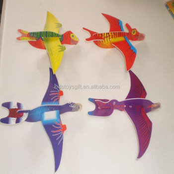 Cheaper Foam Kids Dinosaur Paper Foam Glider - Buy 3d Paper Dinosaur  Airplane,Foam Glider Plane,Paper Airplane Model Product on Alibaba com