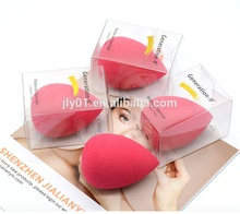 JLY China herstellung rose red make-up schwamm ei tear drop blender foundation gesicht puff ohne latex
