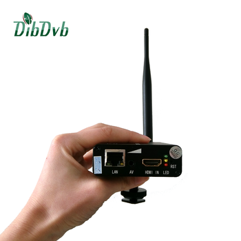 mini Lithium wireless HD iptv Encoder h.265 encoder for live video transmission anywhere