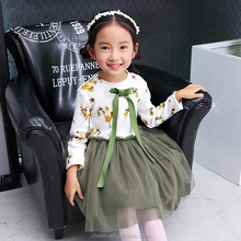 latest hot selling cheap sweet 1 year baby girl dresses for baby girls frock 2017