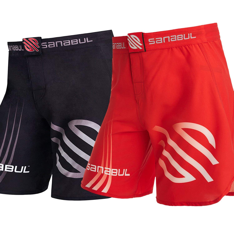 Sanabul Series 1 Combat MMA Kickboxing Brazilian Jiu Jitsu BJJ Shorts