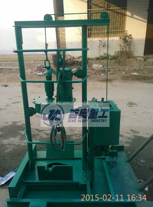 Small Portable Water Well Drilling Machine 180m Depth