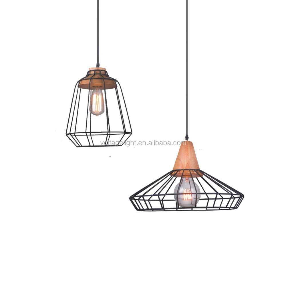 Wire Pendant Light Decorative Metal Pendant Light Cord Wire Pendant Light For Coffee