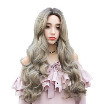 Wanita Rambut Keriting Panjang Gelombang Besar Wanita Muda Lucu Rambut Panjang Untuk Wajah Bulat Wig Korea Wanita Gaya Rambut Buy Korea Perempuan Gaya Rambut Wanita Rambut Keriting Panjang Rambut Panjang Untuk Wajah
