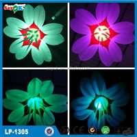 LED inflatable giant flower decoration for party/wedding/event