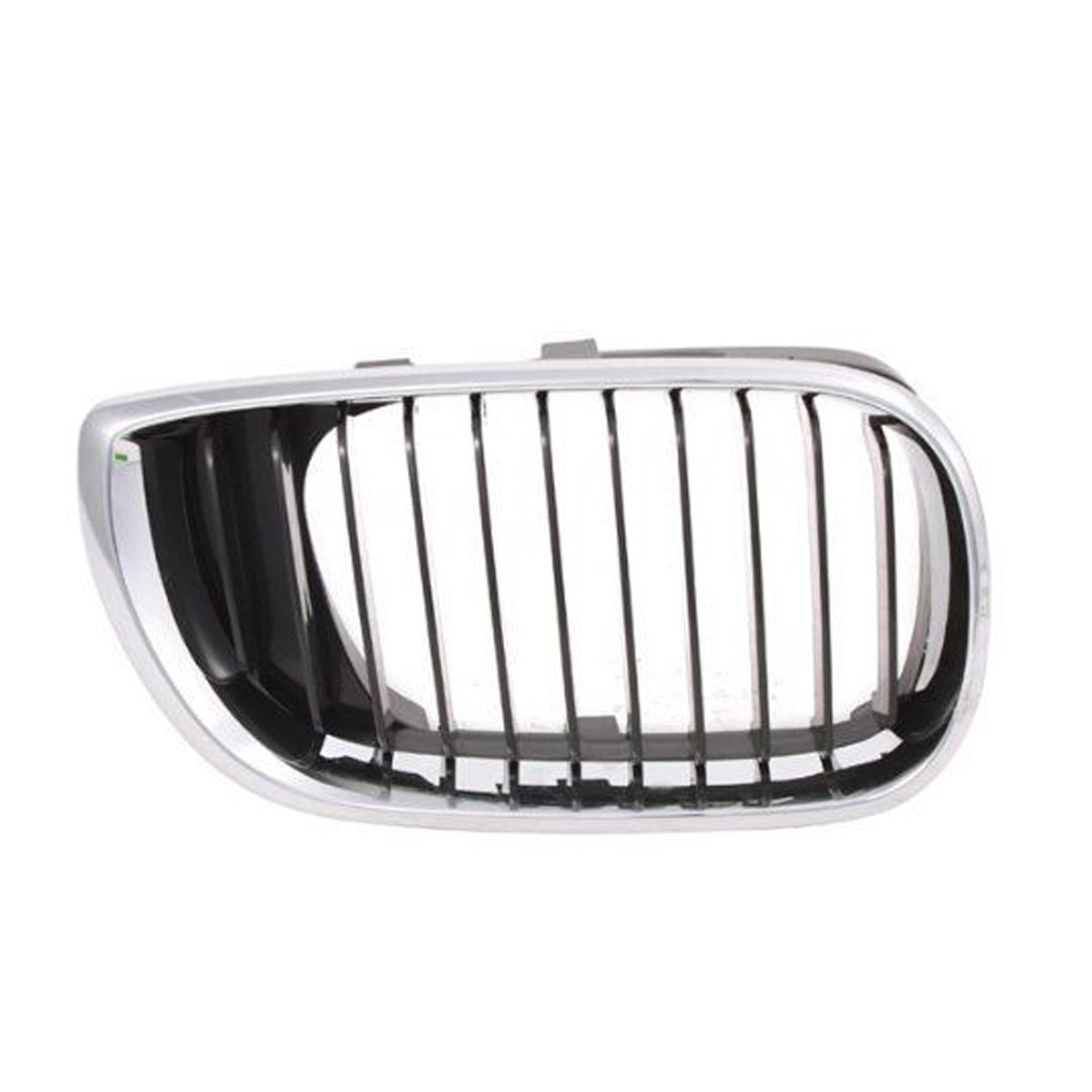 Keystone 51137030546 - BMW 3 Series Grille Chrome Black Passenger Side Hood Mounted (Partslink: BM1200127 )