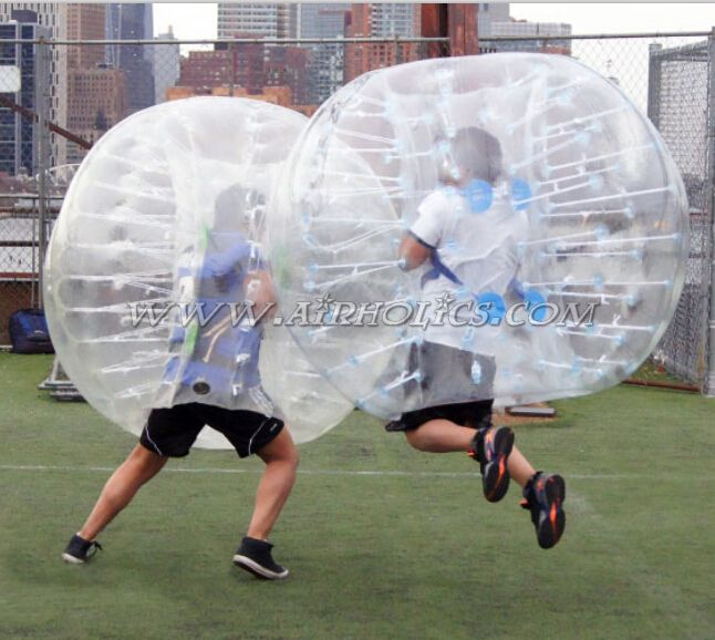 Inflatable Bumper Ball/TPU Inflatable Bubble football /Inflatable Bumper Body Ball For Team Games W7094