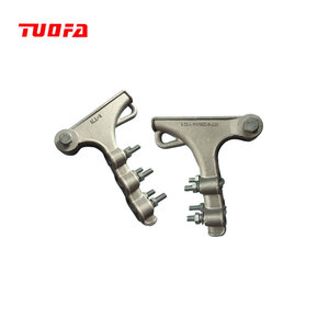 NLL Series Bolt Type Aluminum Alloy Strain Clamp For Aerial Cable Accessories On The Strain Pole