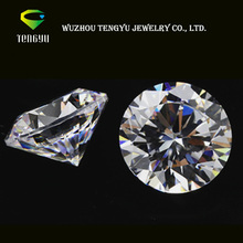 Loose pure white color synthetic moissanite diamonds for jewelry making