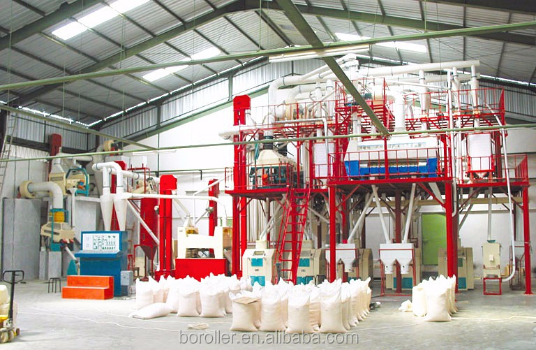 Good quality small scale wheat flour milling machines corn production equipment