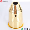 Hot Selling Decorative Stainless Steel Gold Wind Cover Hookah Shisha Nargile