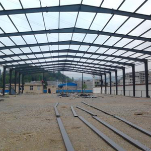 Prefab fast made car showroom structure shed warehouse for sale