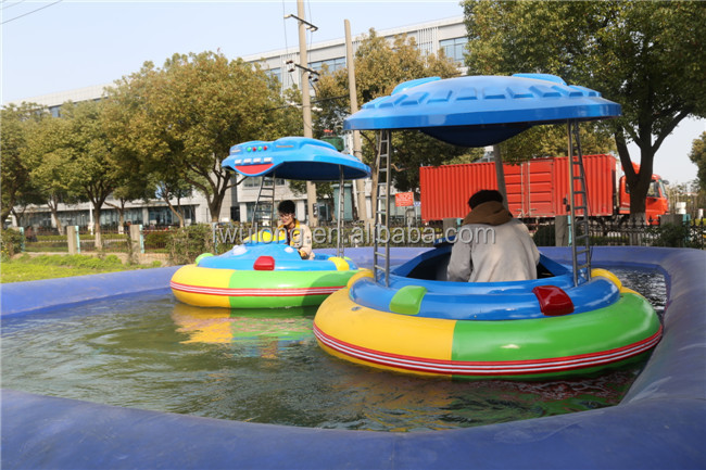 Swimming Pool Or Shallow Water Use Motorized Laser Bumper