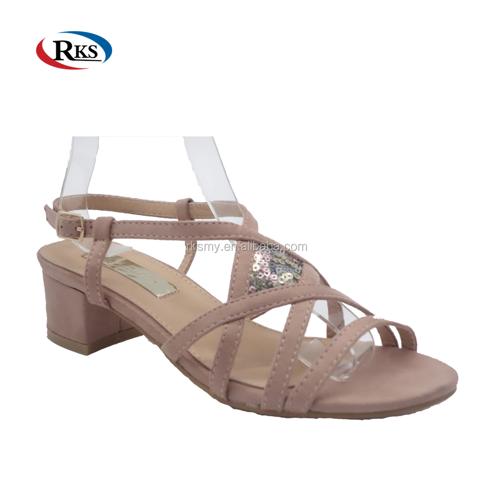 korean slingback sandal shoe lady