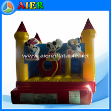 2016 New micky inflable bounce house used commercial bounce houses for sale