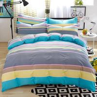 High Quality 100% Cotton Hotel Bedding Sets Luxury Stain Plain Hotel Textile 5 star hotel Bedding Sheet
