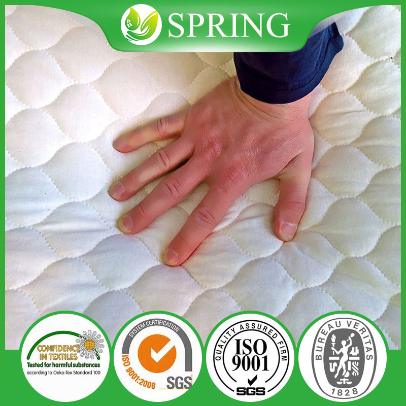 Best Value Cotton Fabrics Quilted Home Textiles China Factory Waterproof Mattress Protector Cover