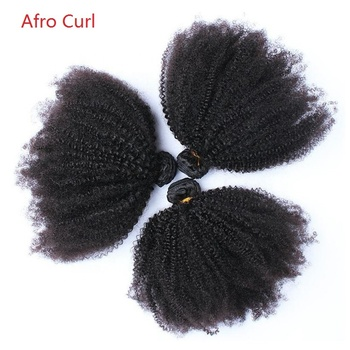Mongolian Afro Kinky Curly Hair Weave ,Short Virgin 100% Indian Human Hair Extensions ,Afro Kinky Human Hair Bulk