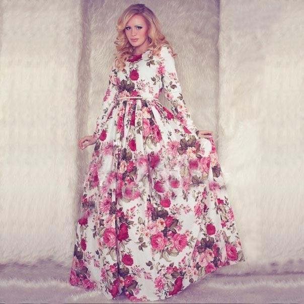 9b435ccb318 Turmec » long sleeve pink maxi dresses