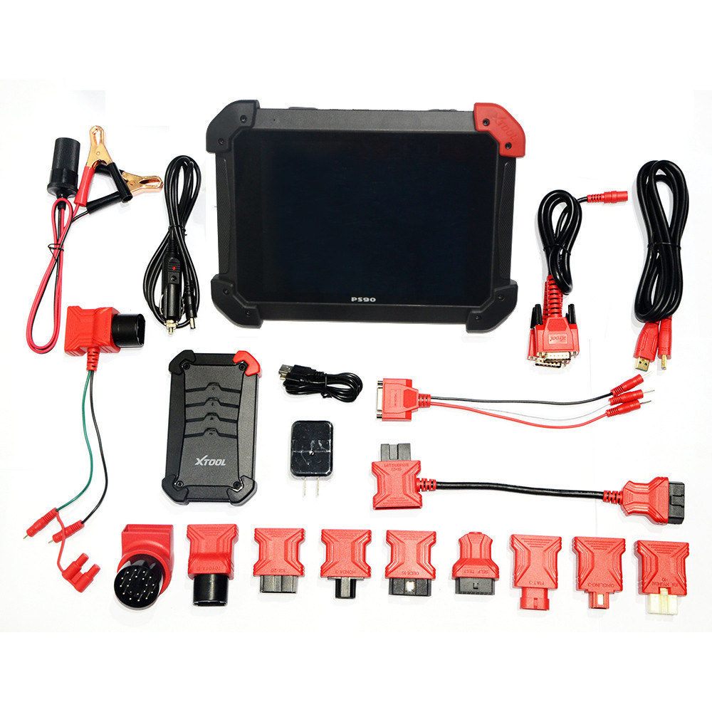 New xtool ps90 universal obd scanner car diagnostic tool vehicle scan tool ps90 car computer
