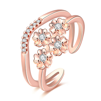 Diamonds Rings Price In Pakistan Rose Gold Ring For Women Crystal