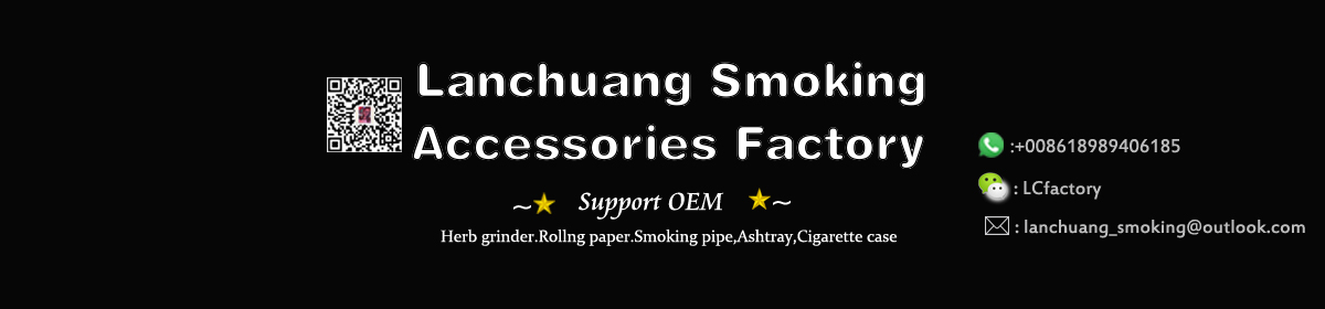 Lanchuang 2019 New Product Hot Decals Design Tobacco Pipe Smoking Pipes Smoking Accessories Aluminium Smoking Pipe custom logo