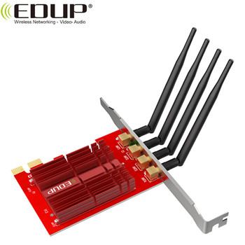 EDUP dual band 1900Mbps wifi PCI/PCI-E Network Adapter Wifi Card