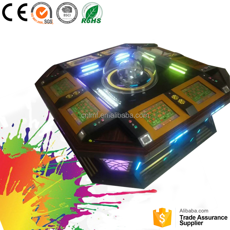 Automatic mahjong tables Gambling game machine roulette table