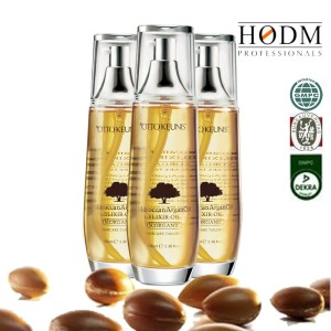 Hot sale natural aroma argan oil The famous italian hair tonic with a lavender fragrance, hair oil for Both MEN and Women