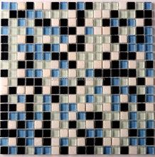 Wholesale glass mix marble mosaic tiles, art design mosaic tile ...
