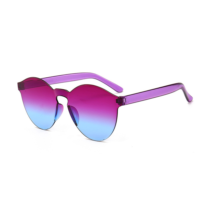 GUVIVI sunglass manufacturers in usa gradient color safety sunglasses colorful candy sunglass display фото