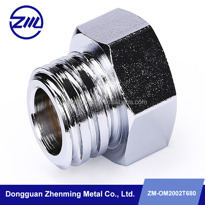 OEM factory make steel screw nuts high quality cnc machined parts