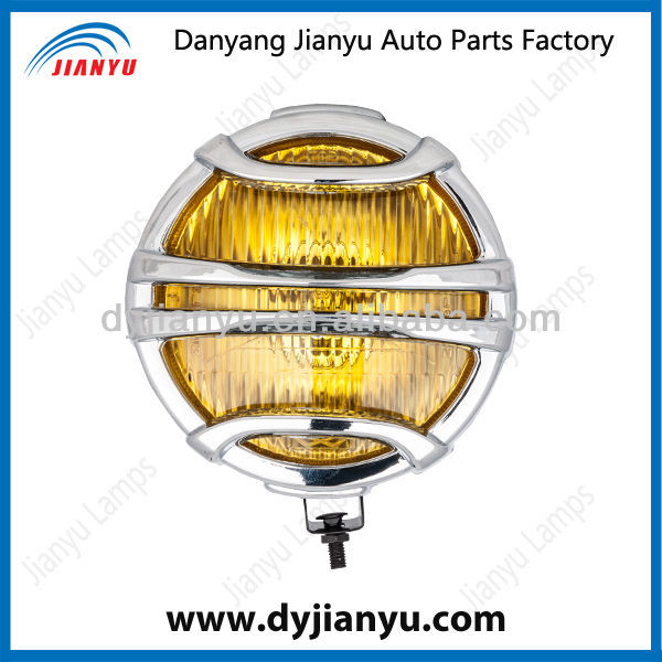 6 Inch Round Fog Lamp,H3 Auto Fog Light With Plastic Chromed Cover,Auto Spare Parts JY065